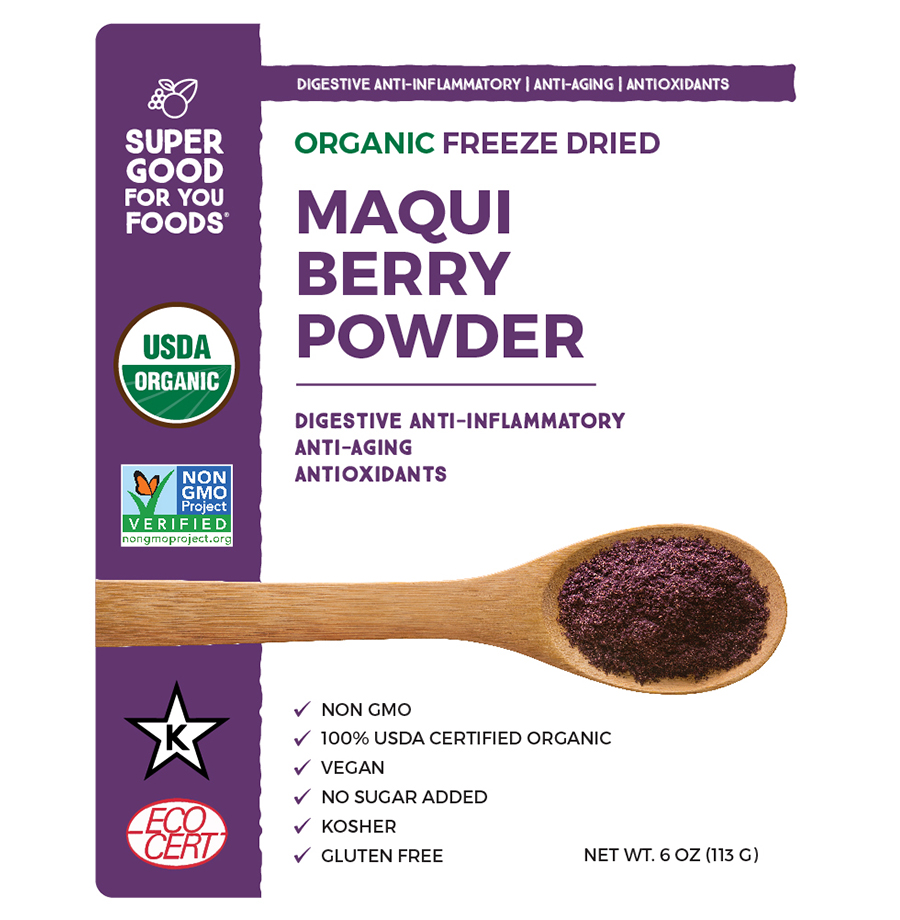 Maqui Berry Powder Super Good For You Foods Superfoods Sold In The Us